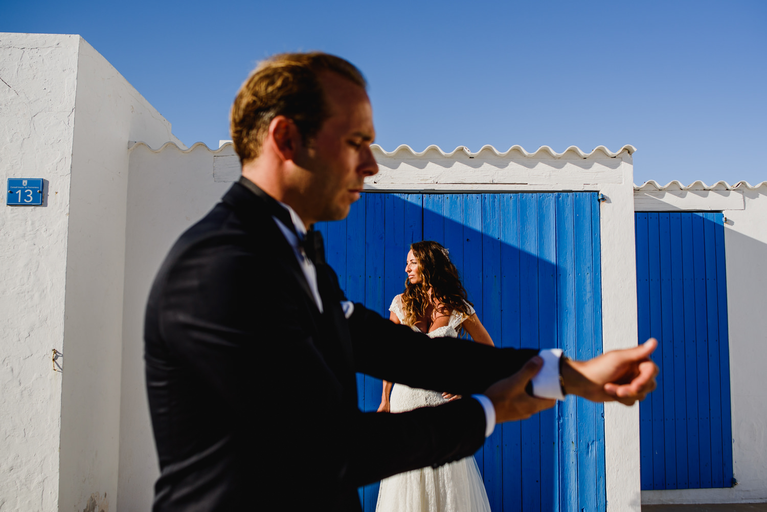 Wedding photographers in Ibiza for a modern couples